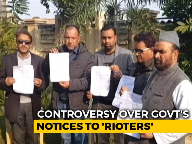 Video : In UP's Sambhal, Questions On Legality Of Notices Sent To Alleged Rioters