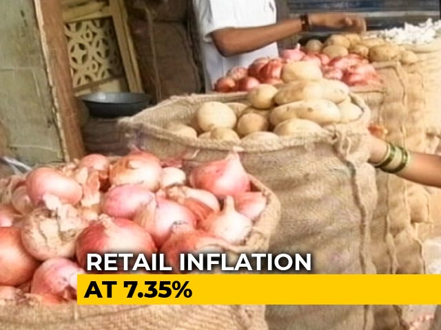 Video : At 7.35%, Retail Inflation Highest Since 2014, Food Prices Surge