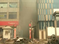 Firefighter Killed After Explosion Brings Down Battery Warehouse In Delhi