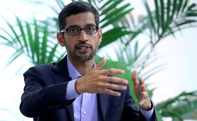 'My Father Spent A Year's Salary On My Plane Ticket To US': Sundar Pichai