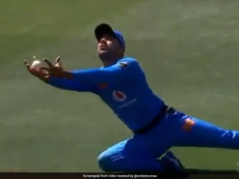 Watch: Rashid Khan Sets BBL Alight With Stunning Running Catch