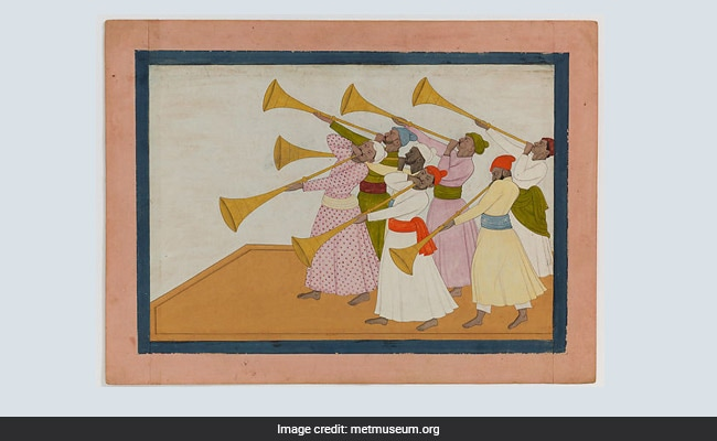 British Museum Acquires Rare Indian Painting 'Trumpeters' For $576K