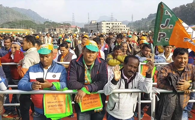 """From Village To Village"": Nearly 1 Lakh At Assam BJP Citizenship Law Rally"