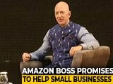 Video : Jeff Bezos Makes $1 Billion Commitment To India