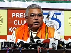 Nothing Wrong With People Bursting Firecrackers: Bengal BJP Chief Dilip Ghosh