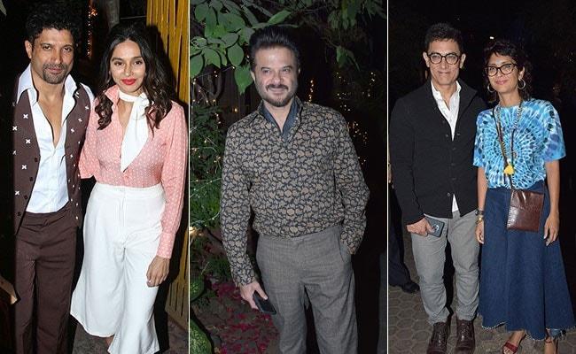 Javed Akhtar's Retro Birthday Party: Farhan-Shibani Dandekar, Aamir Khan, Anil Kapoor And Other Stars Channelled The Seventies
