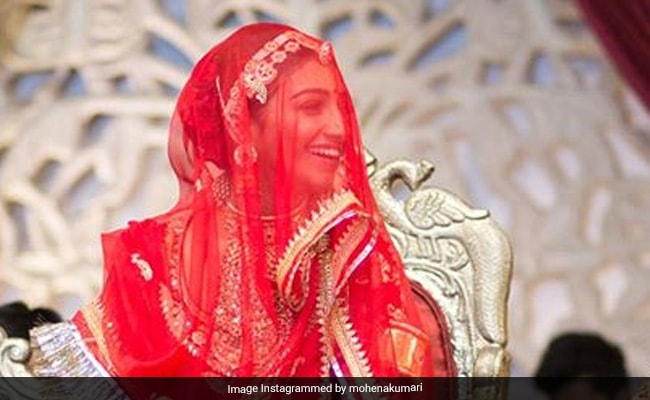 Watch: Actress Mohena Kumari Singh Shares A Glimpse Of Her Royal Wedding