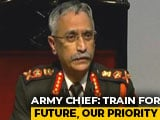 "Video : ""Quality, Not Quantity, Will Be Our Mantra"": Army Chief On Future Warfare"