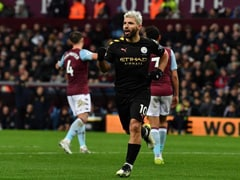 Aston Villa vs Manchester City: Sergio Aguero Creates History As Manchester City Crush Aston Villa