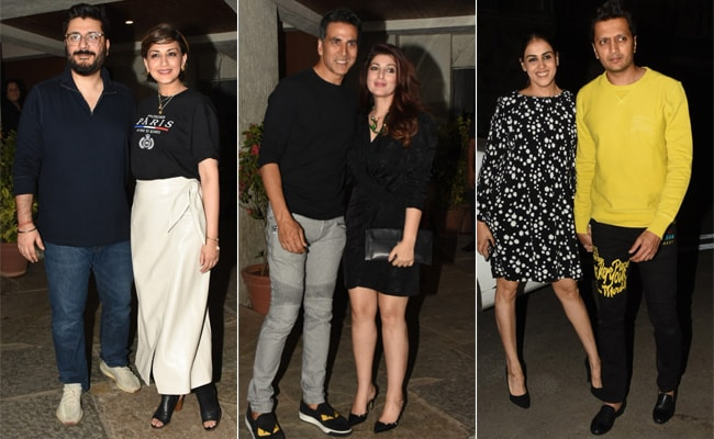 Akshay Kumar-Twinkle Khanna, Riteish Deshmukh-Genelia D'Souza And Others Celebrate Goldie Behl's 45th Birthday. See Pics