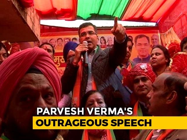"""Video : """"Arvind Kejriwal A Terrorist,"""" Says BJP's Parvesh Verma, Repeat Offender"""