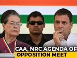 Video : Stop NPR: Opposition's Message To Chief Ministers Against Citizens' List