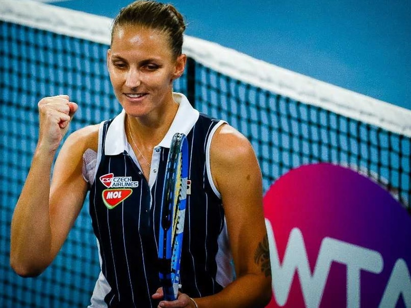 Karolina Pliskova Closes Gap To Top-Ranked Ashleigh Barty Ahead of Australian Open
