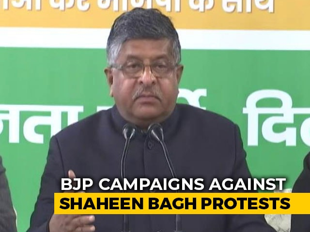 "Video : ""Exposing True Face Of Shaheen Bagh Important"": Minister Slams Protesters"