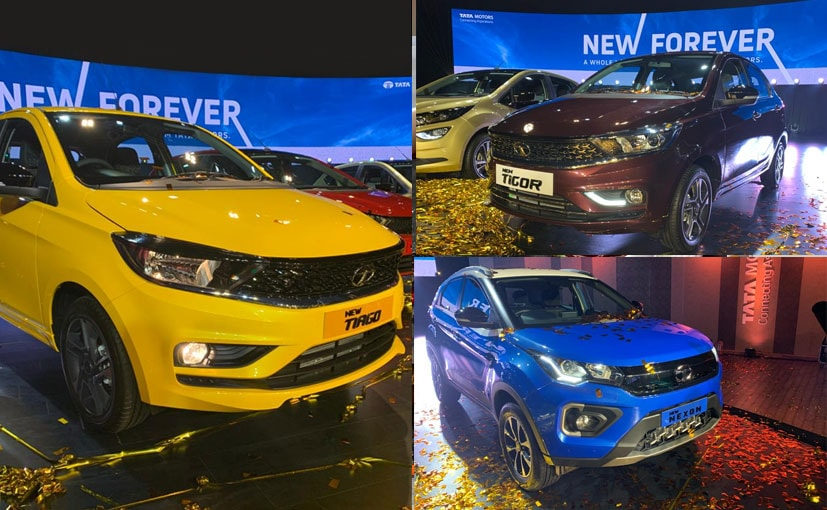 Tata Motors has launched the Nexon, Tiago and Tigor Facelifts alongside the Altroz.