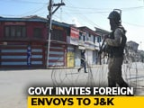 Video : 16 Envoys Including US Ambassador Visit J&K; EU Skips, Wants More Access