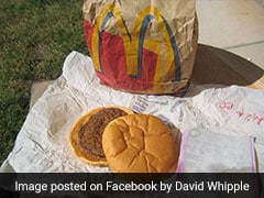 This 20-Year-Old McDonald's Hamburger Still Looks Good As New