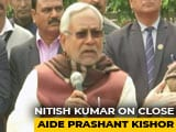 "Video : ""It's Ok Whether He Stays Or Leaves"": Nitish Kumar On Prashant Kishor"