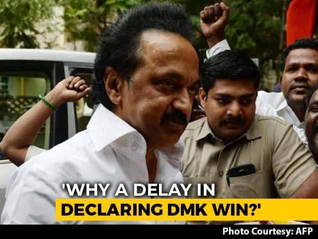 "Video : ""AIADMK Conspiring To Stop DMK"": MK Stalin On Tamil Nadu Local Body Polls"