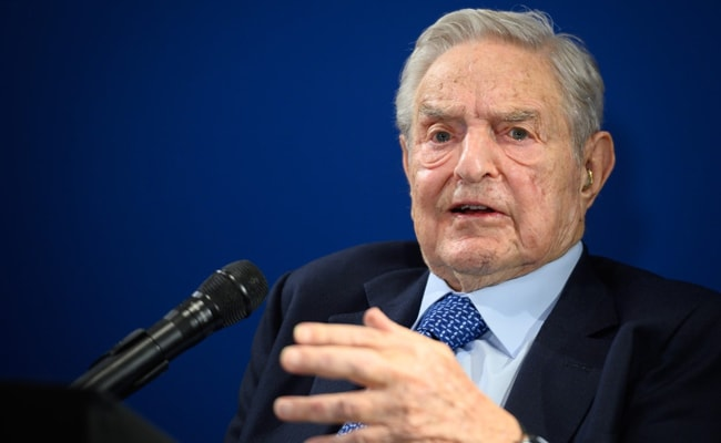 """Most Frightening Setback In India..."": Billionaire George Soros At Davos"