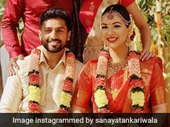 Karun Nair Marries Long-Time Girlfriend Sanaya Tankariwala, Shreyas Iyer, Varun Aaron Post Pictures