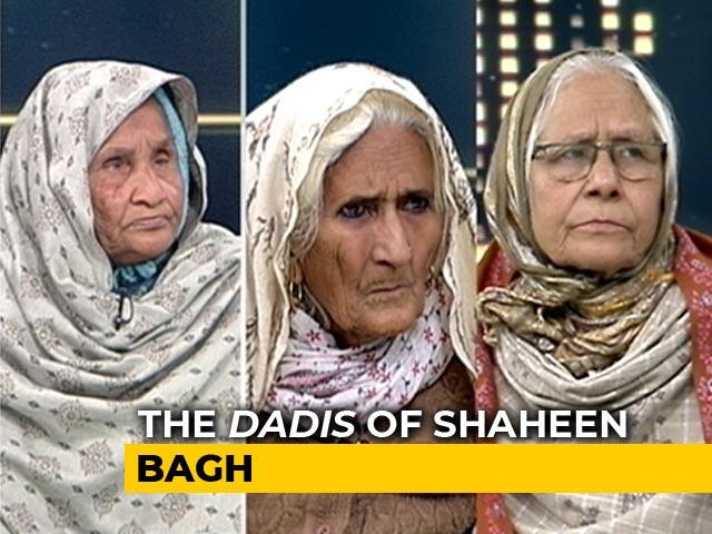 Video : At Delhi's Shaheen Bagh, <i>Dadis</i> Unite Against Citizenship Law