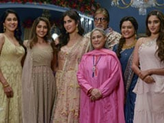 Viral: Amitabh Bachchan With 'Ladies At Work' Jaya Bachchan And Katrina Kaif. See Pic