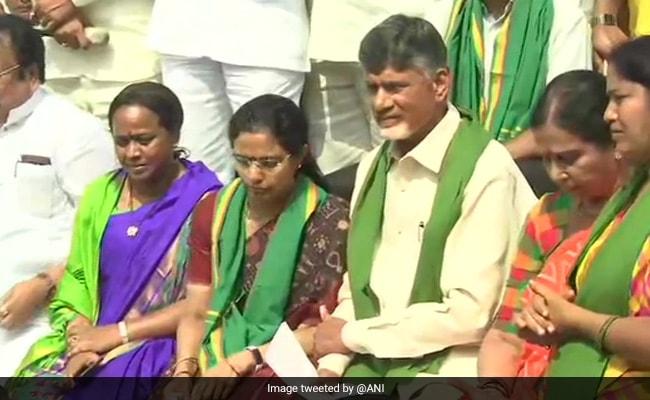 Chandrababu Naidu Among 13 MLAs Suspended From Andhra Assembly