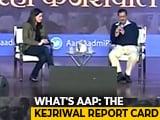 """Video : """"Work Done Will Decide Votes,"""" Says Arvind Kejriwal On Delhi Polls"""
