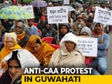 Video : CPM, Congress Protest In Guwahati Against Citizenship Law