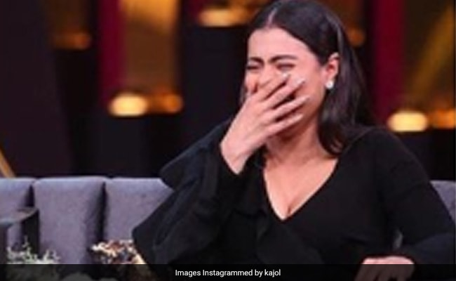 BRB, Busy Laughing At Kajol 'Laughing At Her Own Jokes'