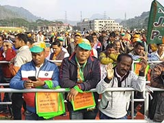"""""""From Village To Village"""": Nearly 1 Lakh At Assam BJP Citizenship Law Rally"""