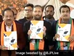 Delhi Polls: BJP का 'संकल्प पत्र जारी', जानिए दिल्ली वालों से भारतीय जनता पार्टी ने किए क्या-क्या वादे