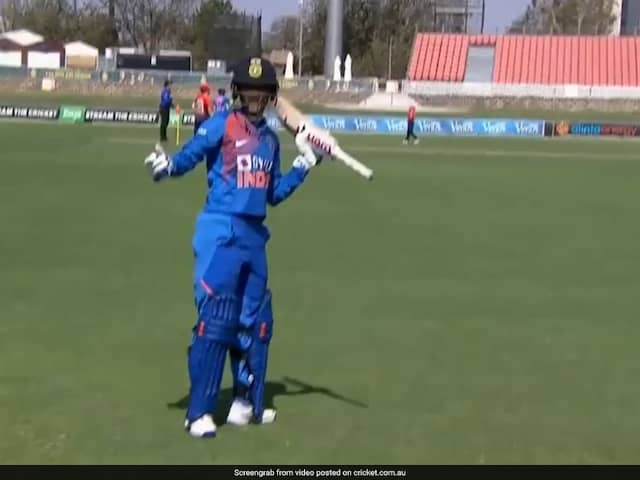 Watch: TV Umpire Comes To Smriti Mandhanas Rescue After Being Given Out By On-Field Umpire In 1st T20I vs England