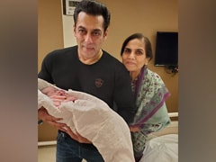Salman Khan Cradles Baby Niece Ayat; 'These Hands Are God Sent,' Writes Arpita Khan Sharma