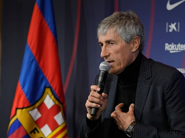 Quique Setien Surprised To Be Given Dream Job At Barcelona