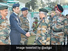 General MM Naravane Visits Troops At LoC, Review Operational Readiness