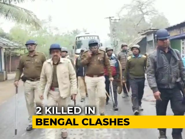 Video : Two Die In Bengal Clashes During Strike To Protest Against Citizenship Law