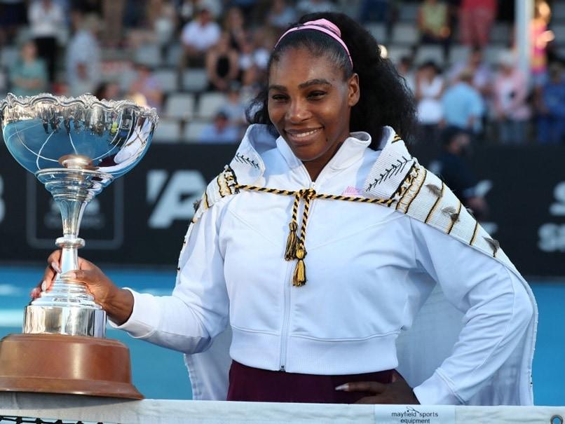 Serena Williams Wins WTA Auckland Classic, Donates Winners Cheque To Australia Bushfire Victims