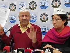 AAP ने उठाये कच्ची कॉलोनियों की रजिस्ट्री पर सवाल, मनीष सिसोदिया बोले- 'फर्जी हैं कागज़ात'