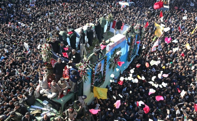 Over 50 Dead In Stampede At Funeral Of Iran General Killed By US: Report