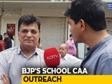Video : BJP's Kirit Somaiya's Same Answer 27 Times On Mumbai School CAA Row