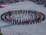 Video : Colourful Beating Retreat Ceremony Marks End Of Republic Day Celebration