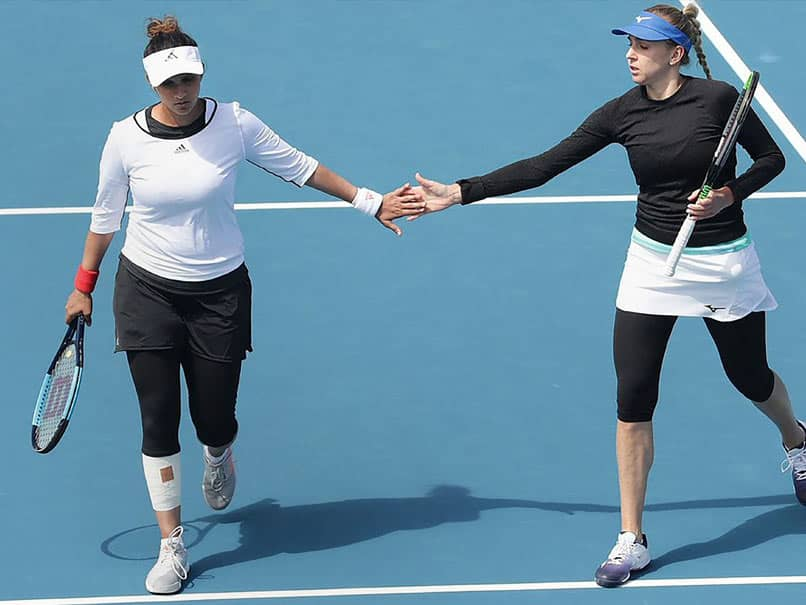 """Pleasantly Surprised I Wasnt As Rusty As I Thought,"" Says Sania Mirza"