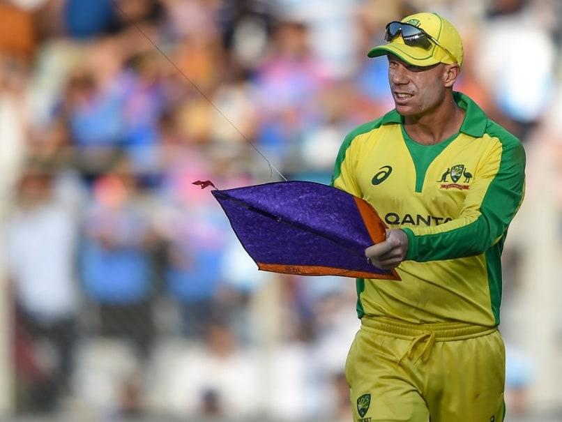 """Thats Some Poor Kids Kite"": David Warners Hilarious Take On ""Bizarre"" Stoppage During 1st ODI vs India"