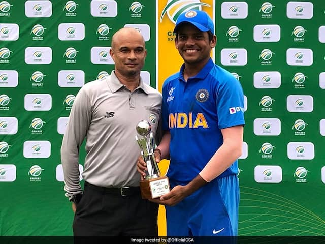 Priyam Garg Leads With Century As India U-19 Beat South Africa By 66 Runs
