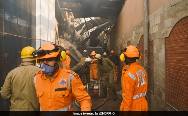 13 Firefighters Among 14 Injured In Delhi Factory Fire: Highlights