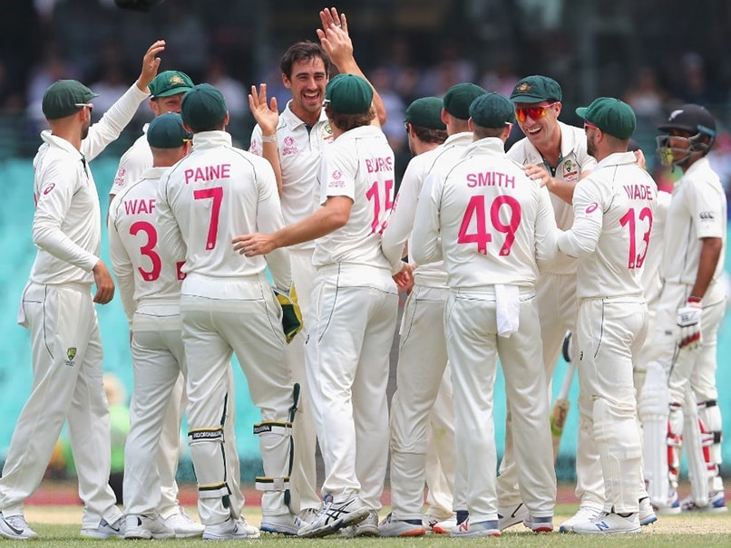 Australia Thrash New Zealand In Sydney To Sweep Test Series