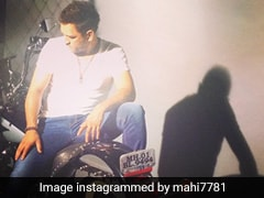 Watch: Sakshi Shares Sneak Peek Of MS Dhoni's Massive Bike Collection