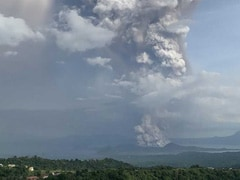 Flights To And From Manila Airport Suspended As Philippine Volcano Spews Ash